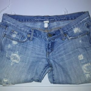 Abercrombie and Fitch Womens shorts distressed